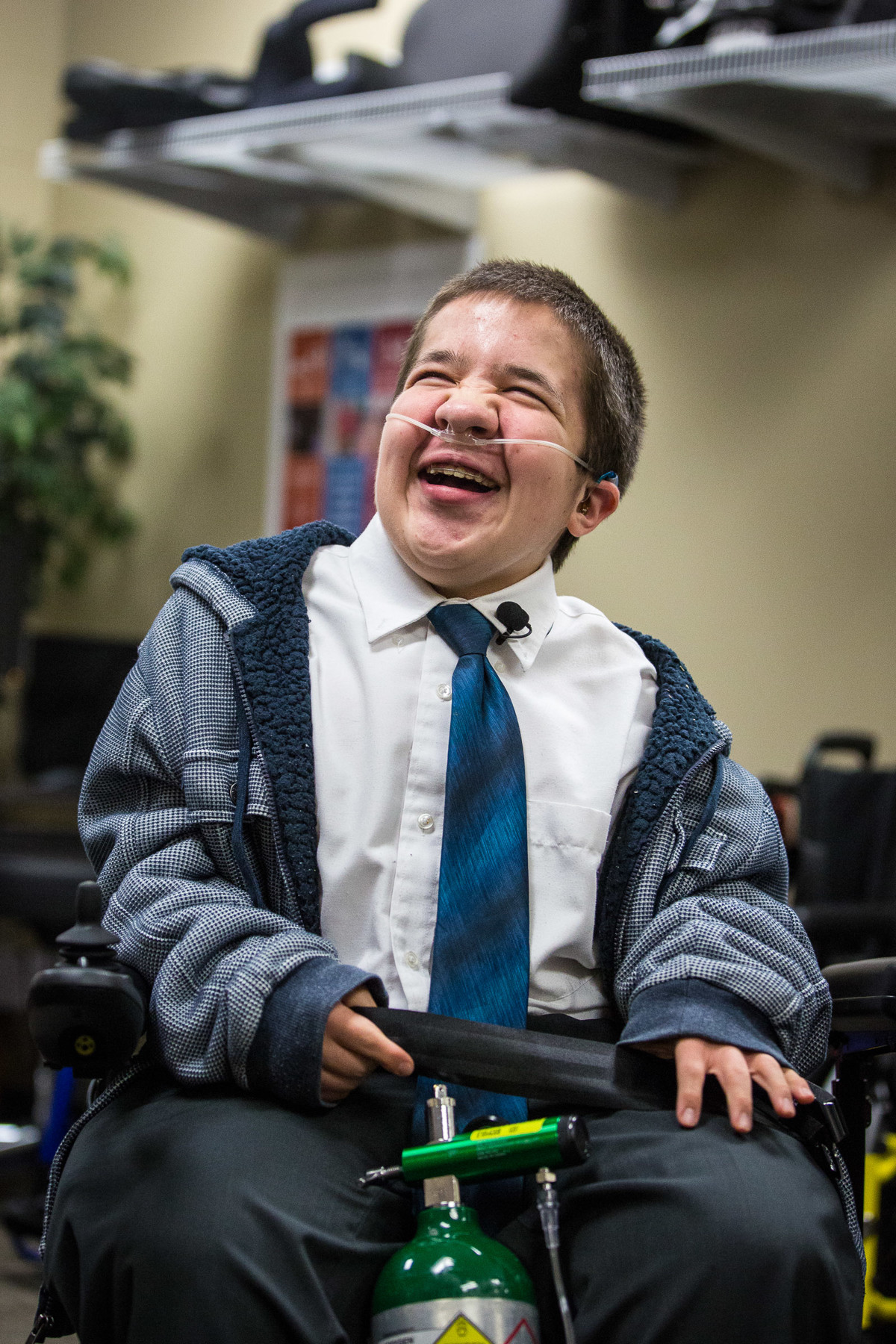 Latter-day Saint missionary with genetic disorder receives new wheelchair