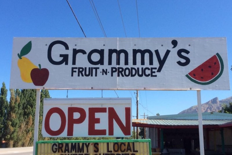 Grammy's Fruit and Produce in Willard is among the many fruit stand along Utah's Famous Fruit Way.