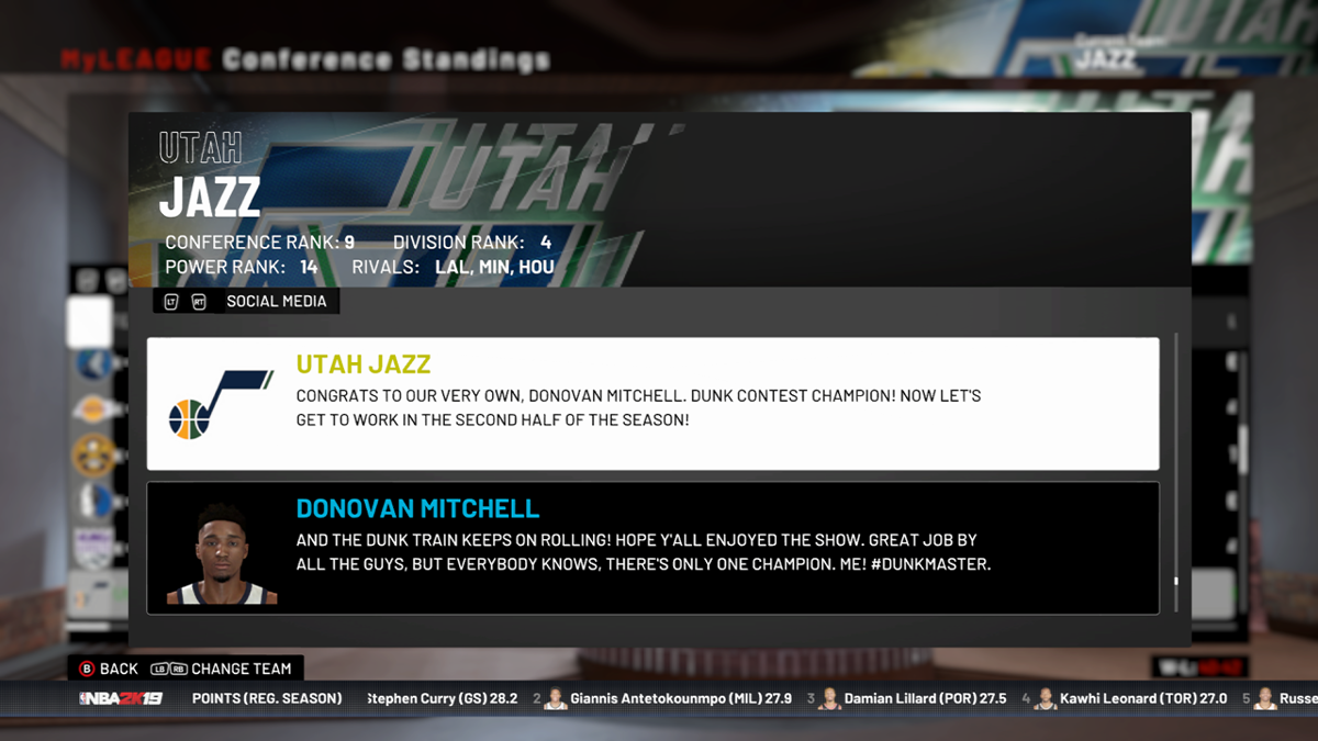 0a4e09b0f2a We simulated the upcoming NBA season 10 times using NBA 2K19. Here s how  the Utah Jazz fared