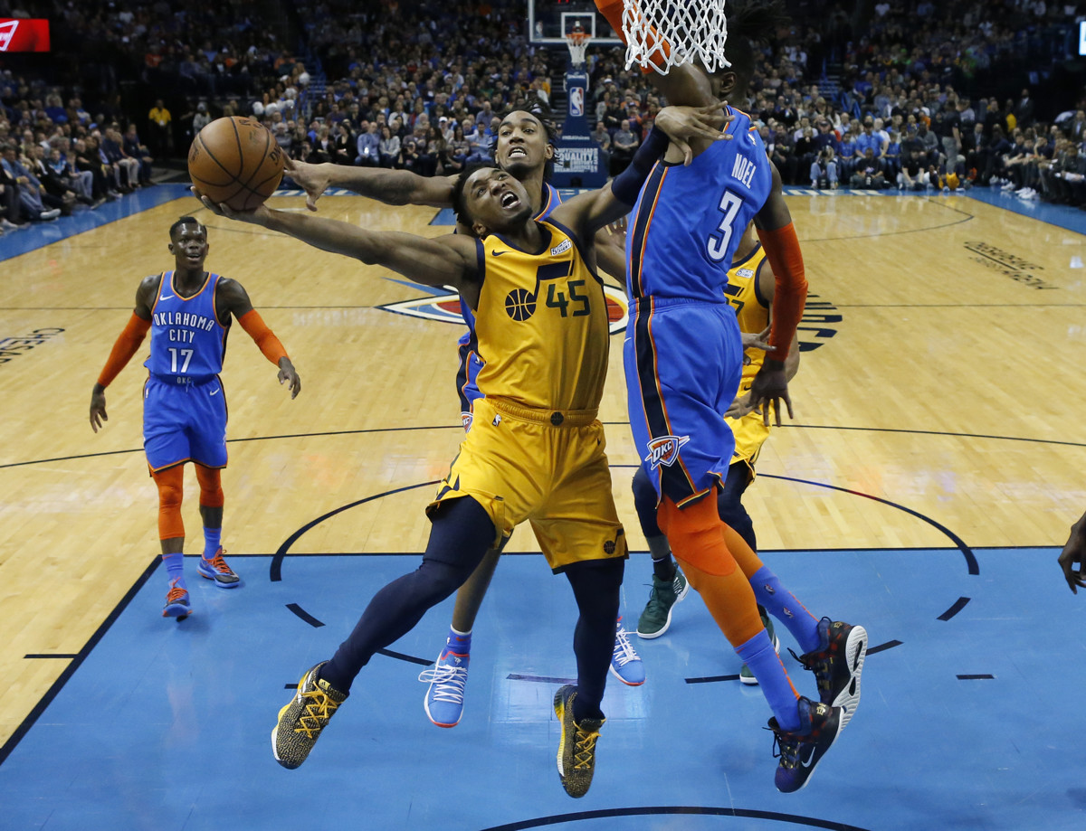 Utah Jazz fall to Oklahoma City Thunder in double-overtime thriller in  first game after NBA All-Star break 4393cada8