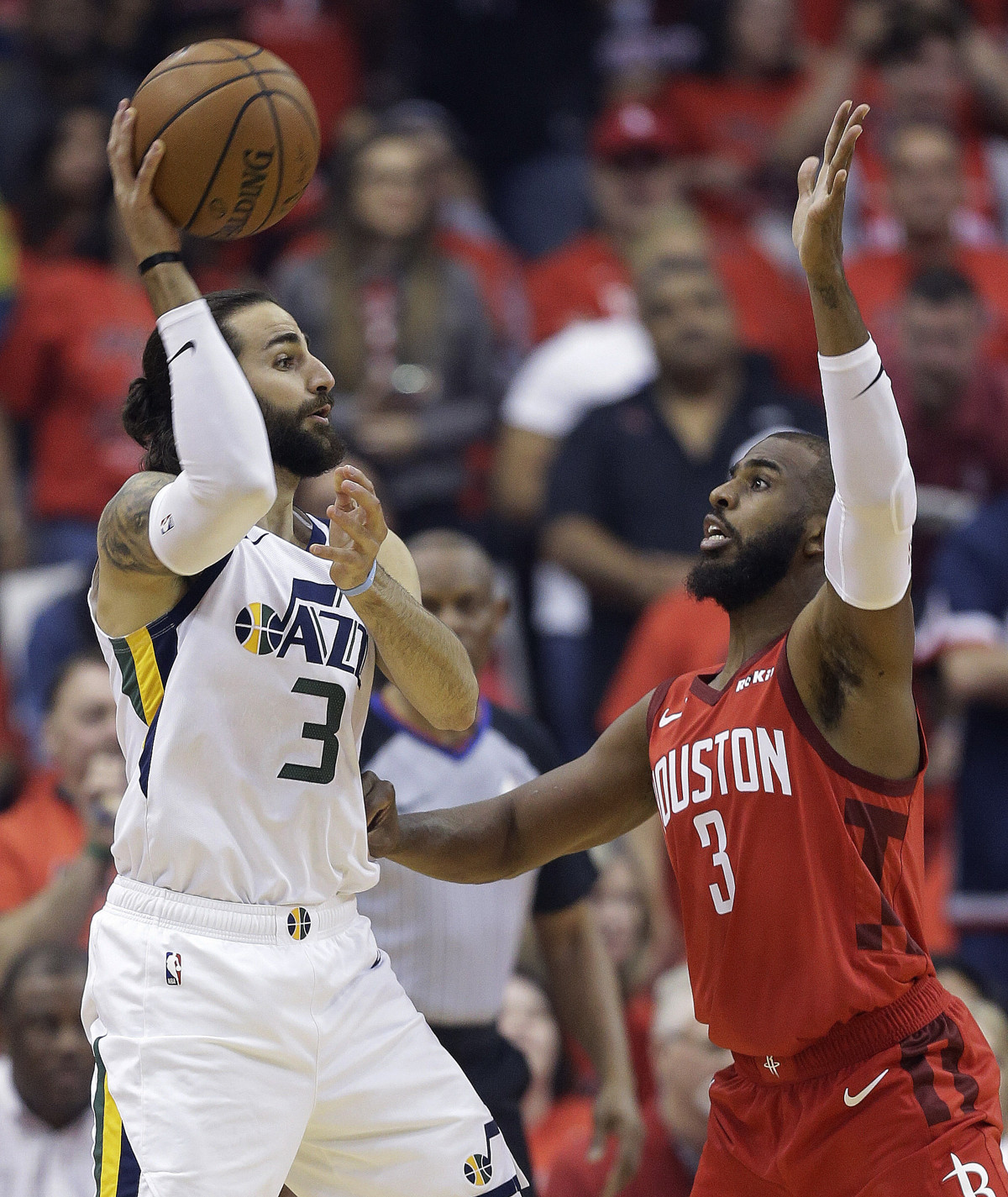 dcaac344d35d Utah Jazz s defense (or lack thereof) on James Harden has Twitter buzzing