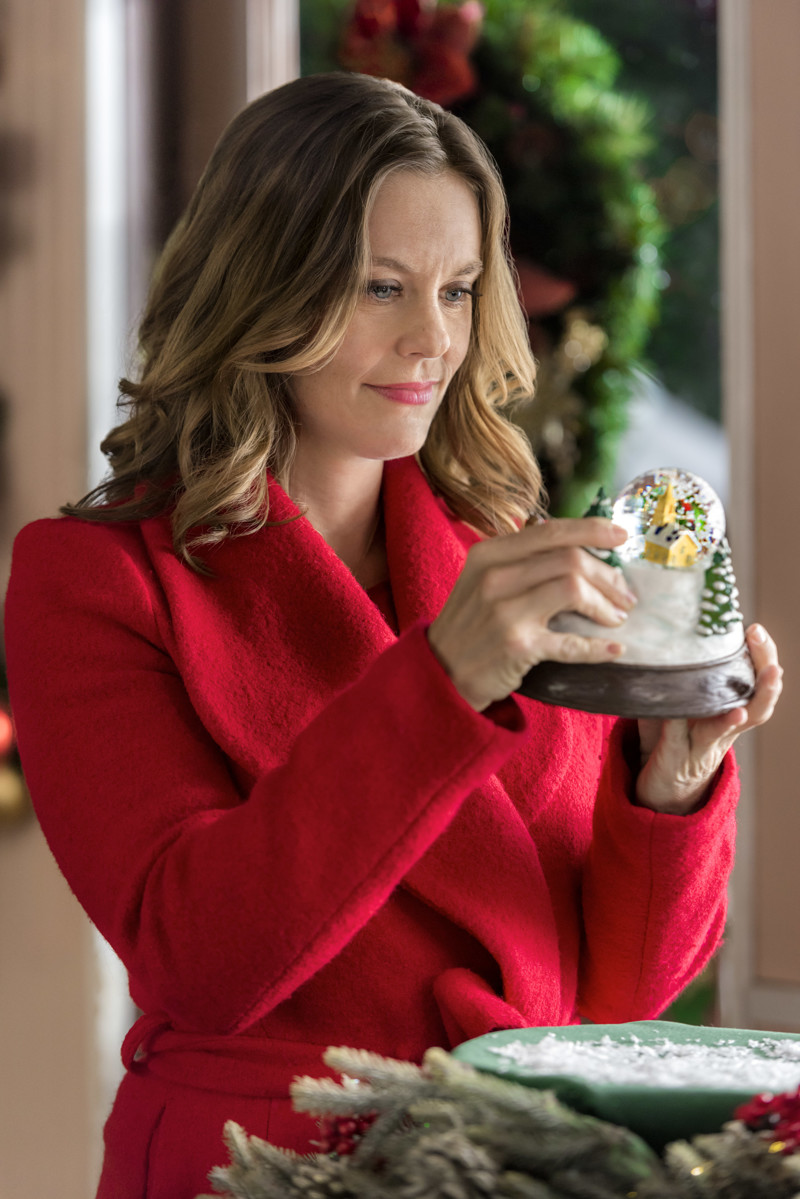 """Christmas in Evergreen,"" with Ashley Williams, is part of Hallmark's 2018 ""Countdown to Christmas."""