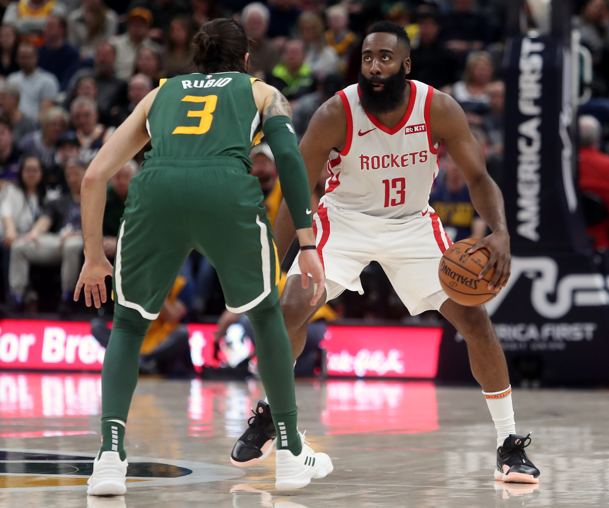 e93795f71b0f James Harden vs. Utah Jazz  How to defend one of the greatest scorers in  NBA history