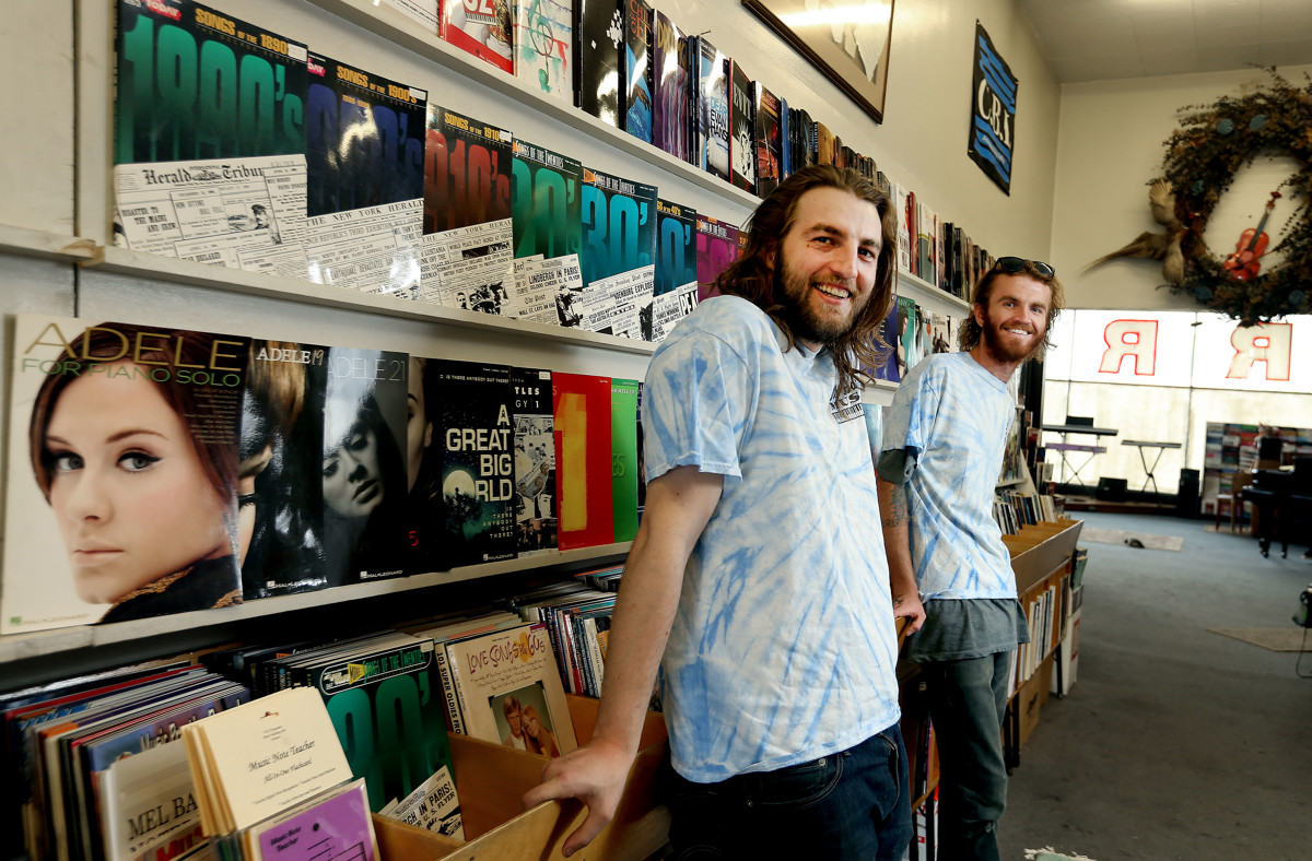 cf3b260c For more than 60 years, Bill Harris ran a music store in Provo. Here's how  his 27-year-old grandson is continuing his legacy