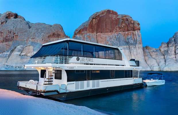 Lake Powell Resort Marinas Houseboats Utah Com
