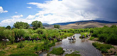 Rockin R Ranch in Utah - Horseback riding