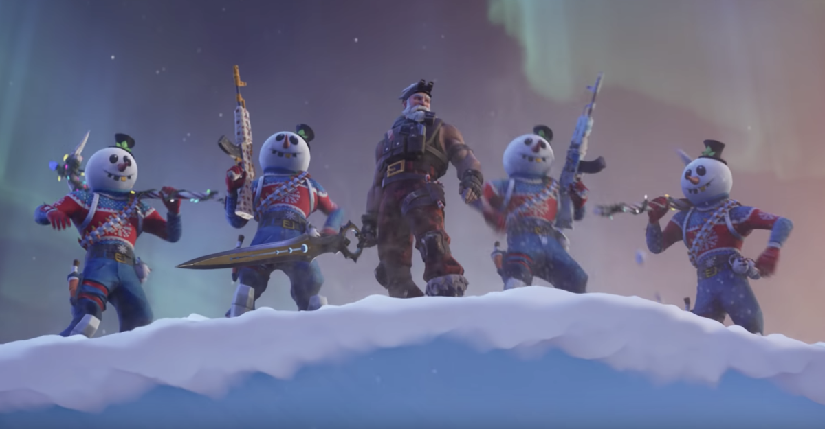 14 Days Of Fortnite Day Seven Here S How To Unlock The Merry
