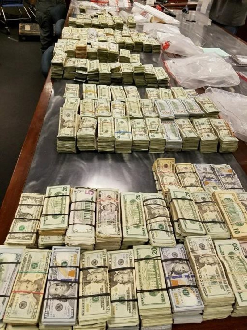 In November of 2016, after conducting surveillance on Aaron Shamo for weeks, the DEA and local cops raided his Cottonwood Heights home, where they seized $1.2 million in cash and discovered a pill press and packages of pills in his basement.