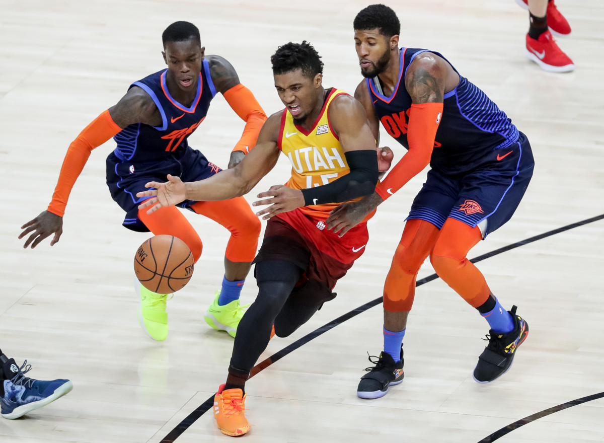Brad Rock  Utah Jazz need Donovan Mitchell all the way back if they want to  beat Oklahoma City 254715ca3