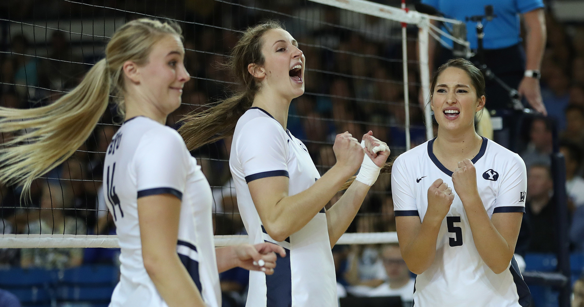BYU women's volleyball: Top-ranked Cougars dispatch Pacific in quick fashion | Deseret News