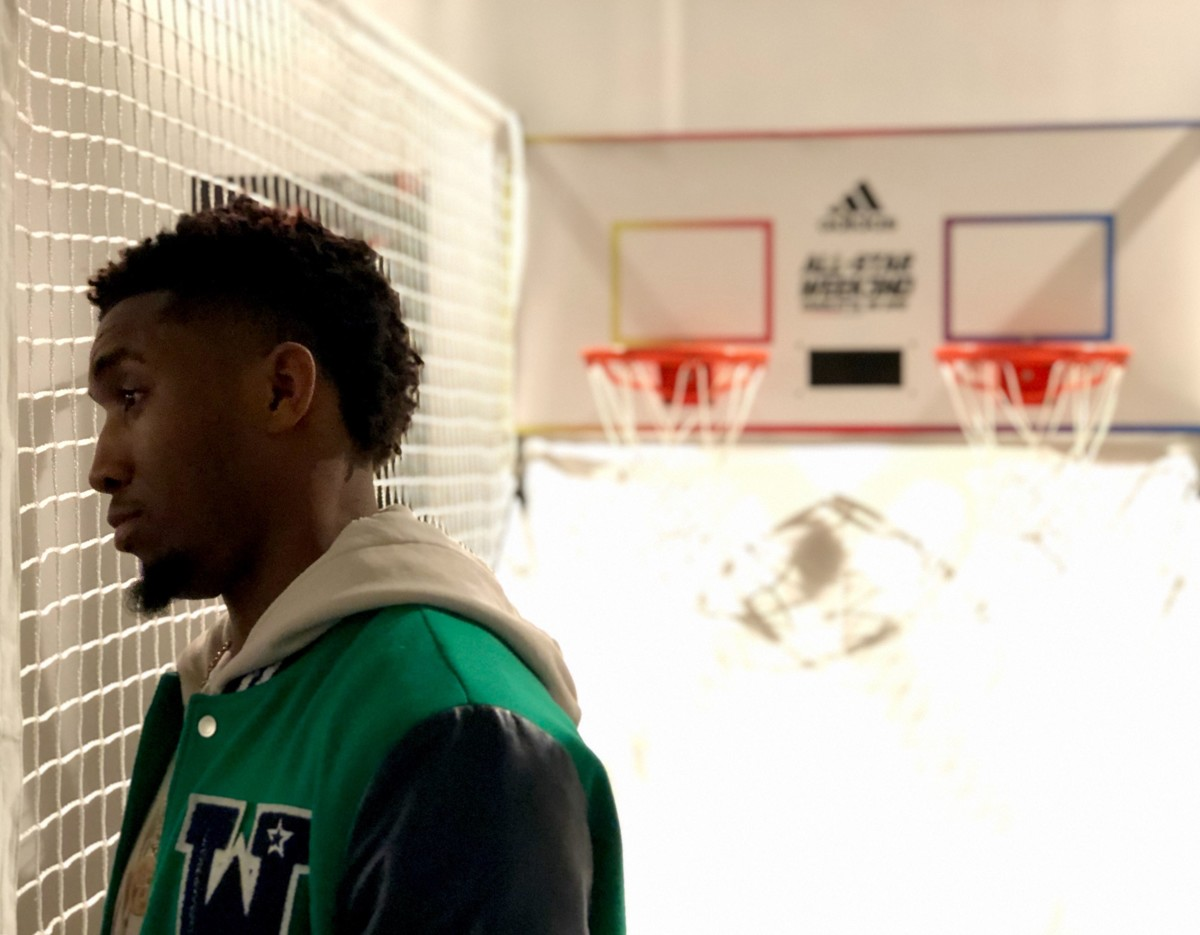 sneakers for cheap e30b1 080ad A detailed look at how Adidas is building Donovan Mitchells D.O.N. Issue 1  signature sneaker