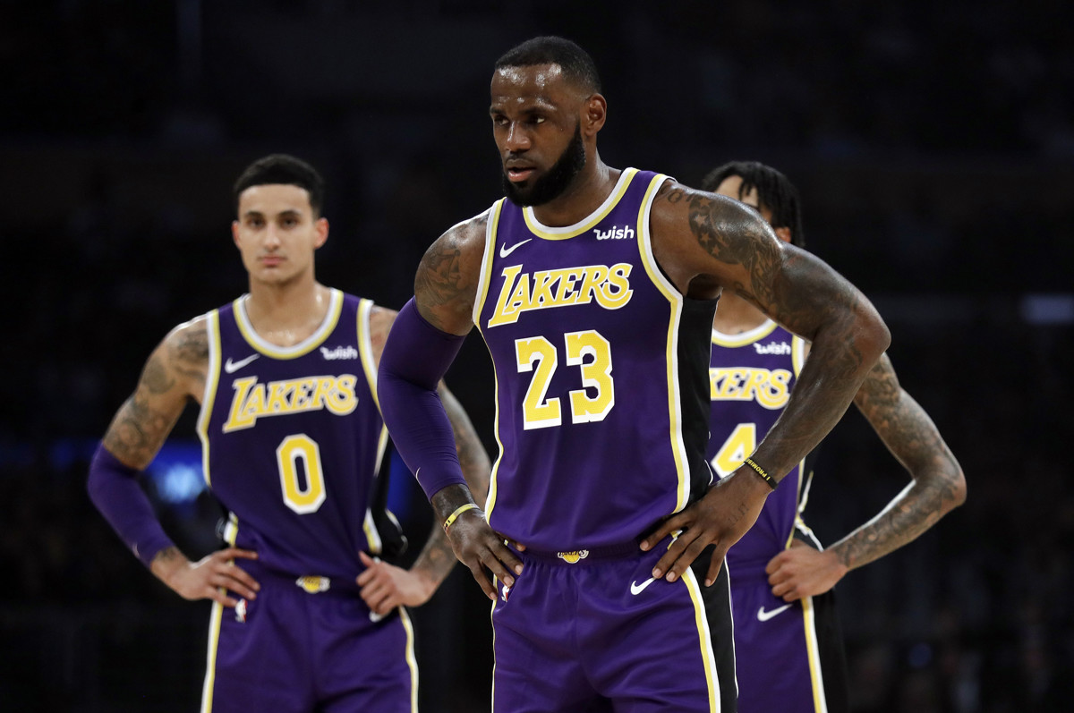 8adcef1bcaf Former Utah Runnin  Utes star Kyle Kuzma benefits from LeBron James   presence in Year 2 as a Los Angeles Laker