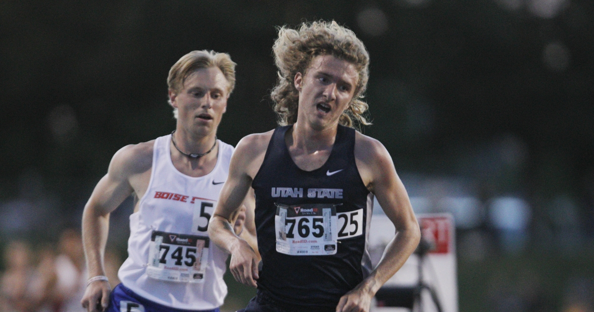 USU track: Dillon Maggard places 13th in 5,000 meters at USA Track and Field Out...