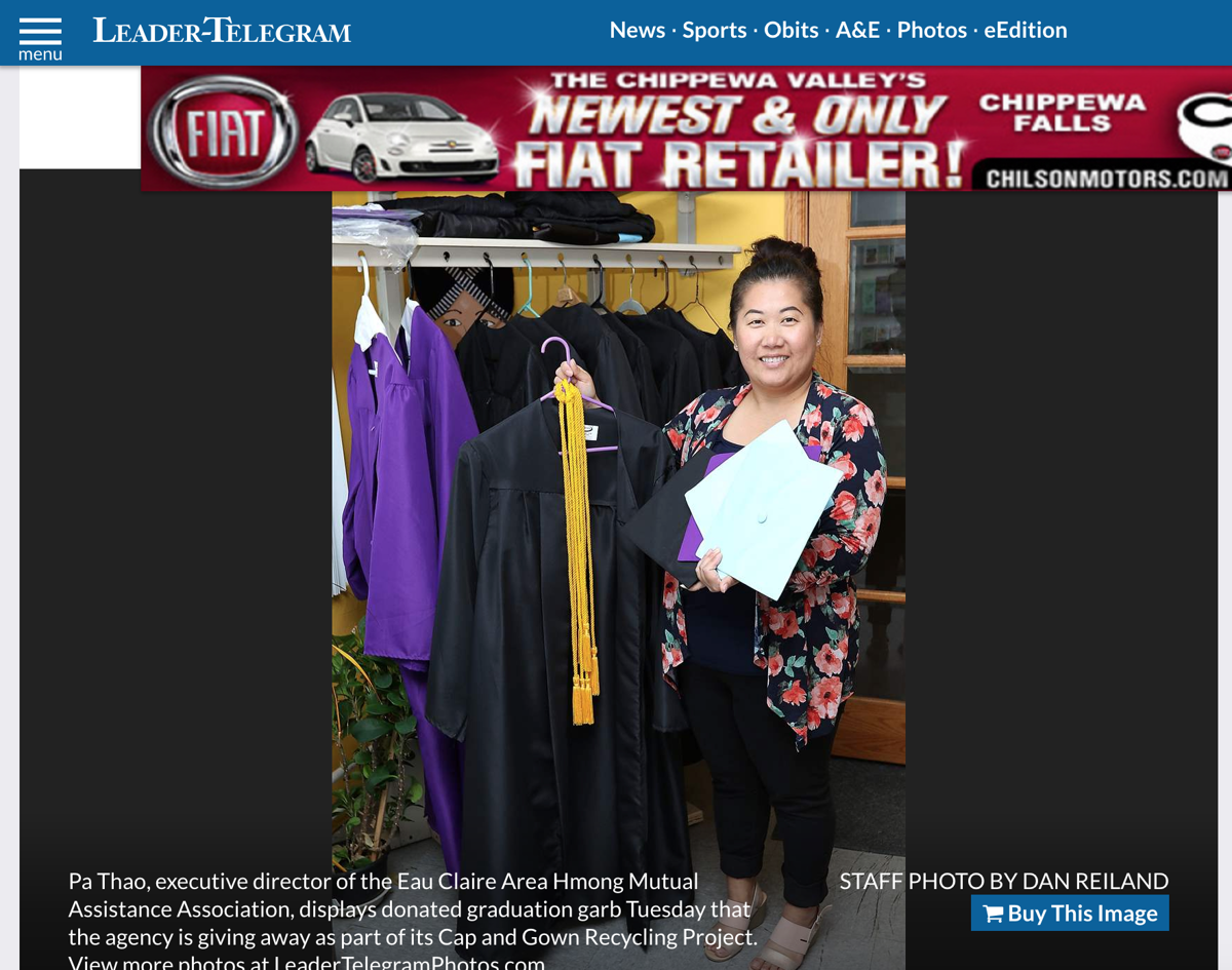 Wisconsin nonprofit donates caps and gowns to low-income graduates ...