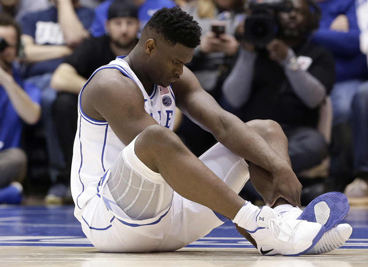 2f3361b33e4 Former Duke star Grayson Allen weighs in on Zion Williamson s sneaker  explosion   I ve never seen anything like that