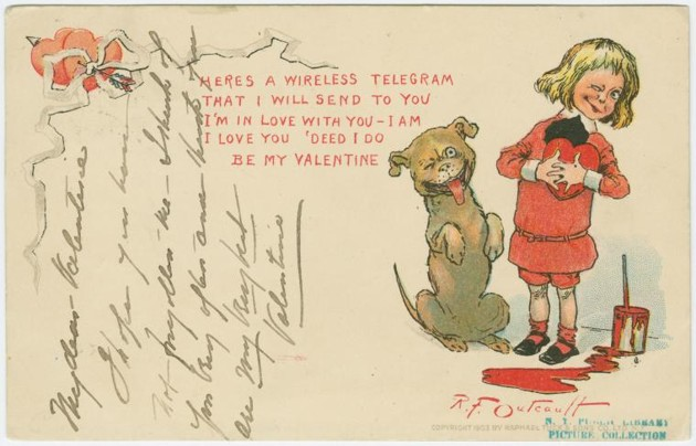 Heres a wireless telegram that I will send to you ...