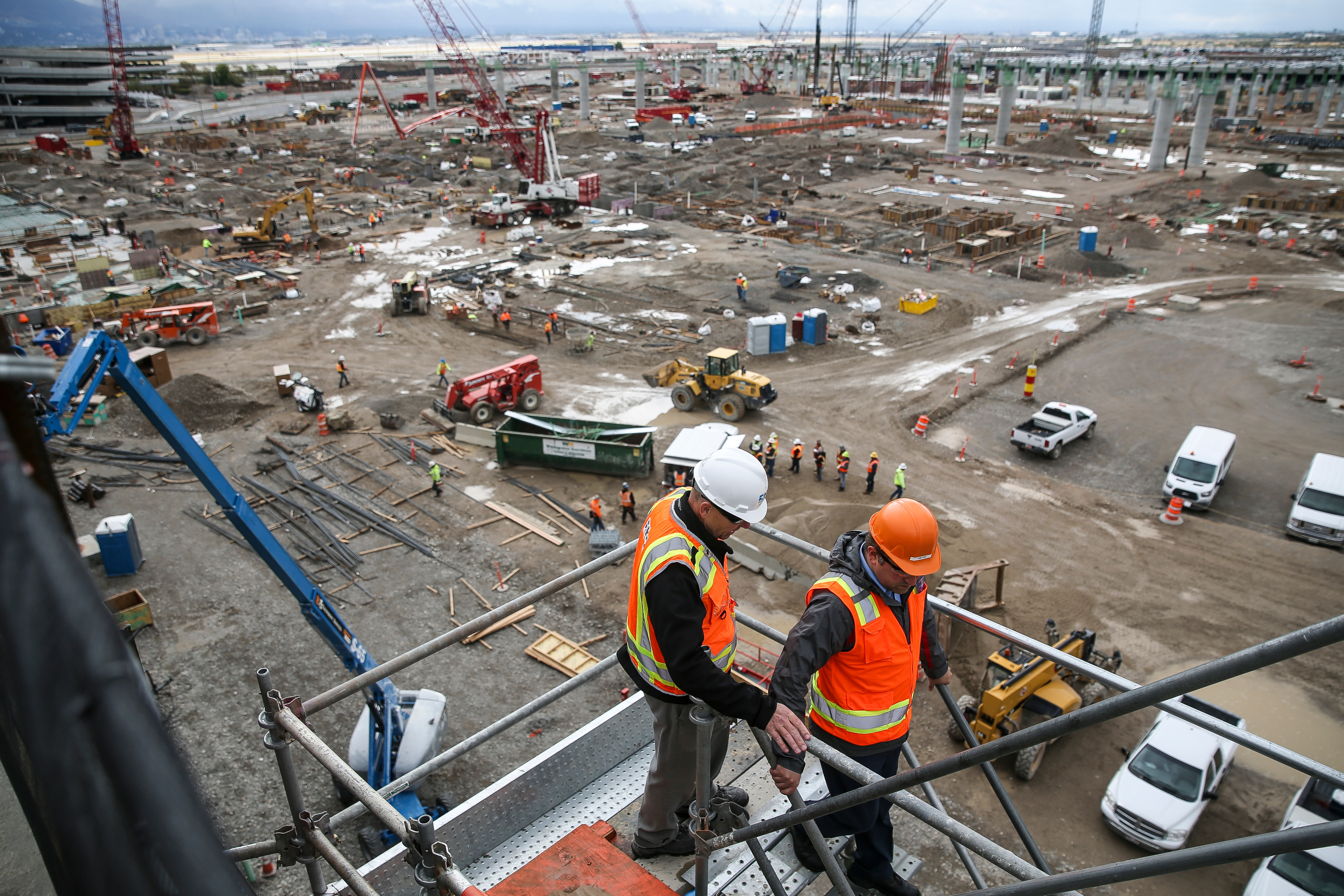 How To Tour Salt Lake Airport Construction