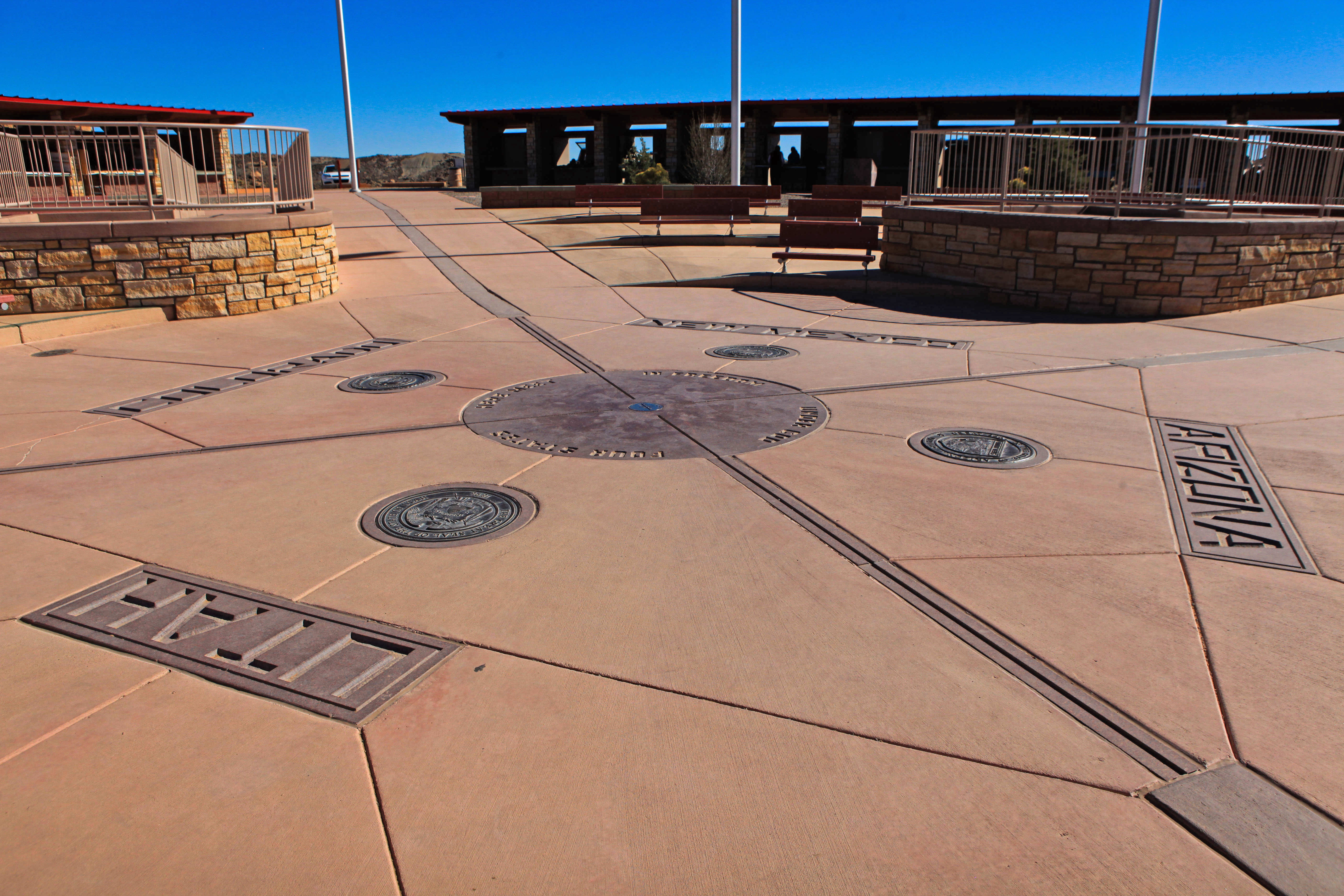 Four Corners Area Fishing Map | Colorado Vacation Directory |Four Corners National Park Map