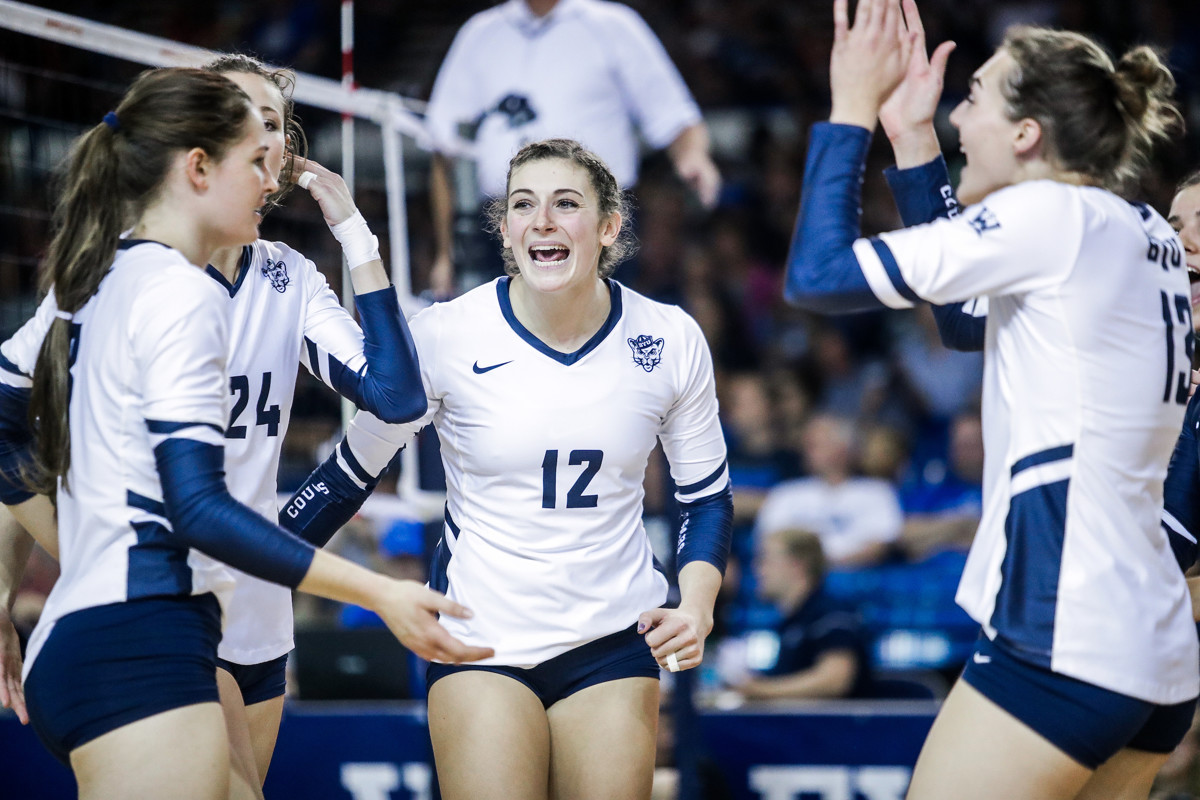 141ffeb57a8 BYU women s volleyball  Cougars thrilled to be named as the No. 4 seed for  the NCAA tournament