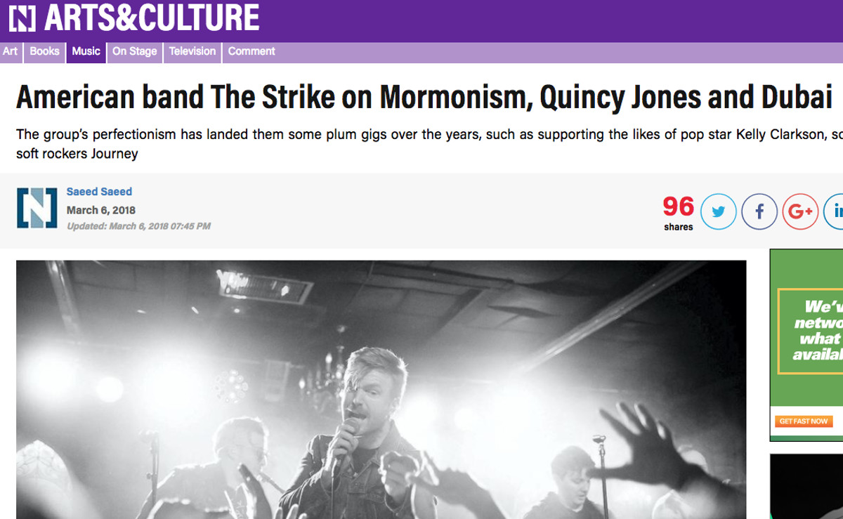 Pop group The Strike talks about Mormon roots in article by The