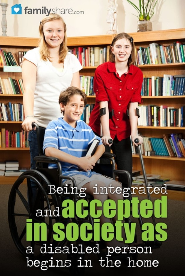 short essay disabled people