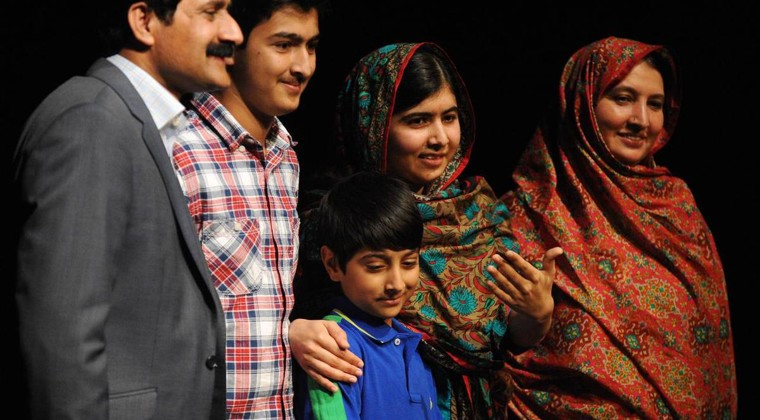 Malala and family — how parents defied Pakistani culture ...