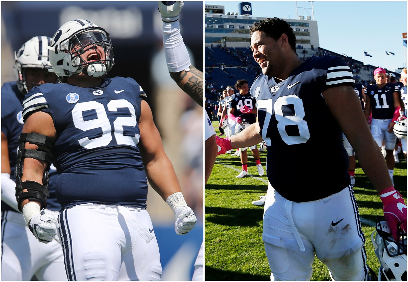 Former BYU linemen Kanuch Tanielu sign with Salt Lake Citys Alliance of American Football franchise