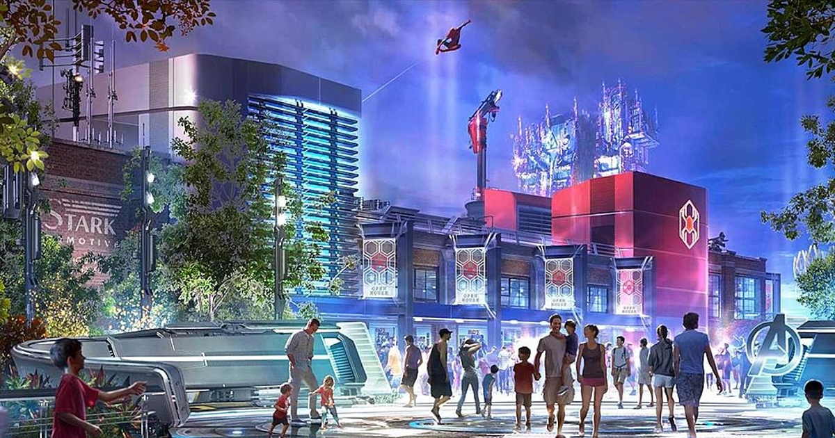 Disneyland receives permits to build Marvel Land in California