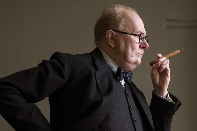 Gary Oldman stars as Winston Churchill in director Joe Wright's