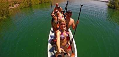 Paddleboard rentals in Utah