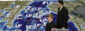 KVLY Scheels Weather Kid Steals The Show