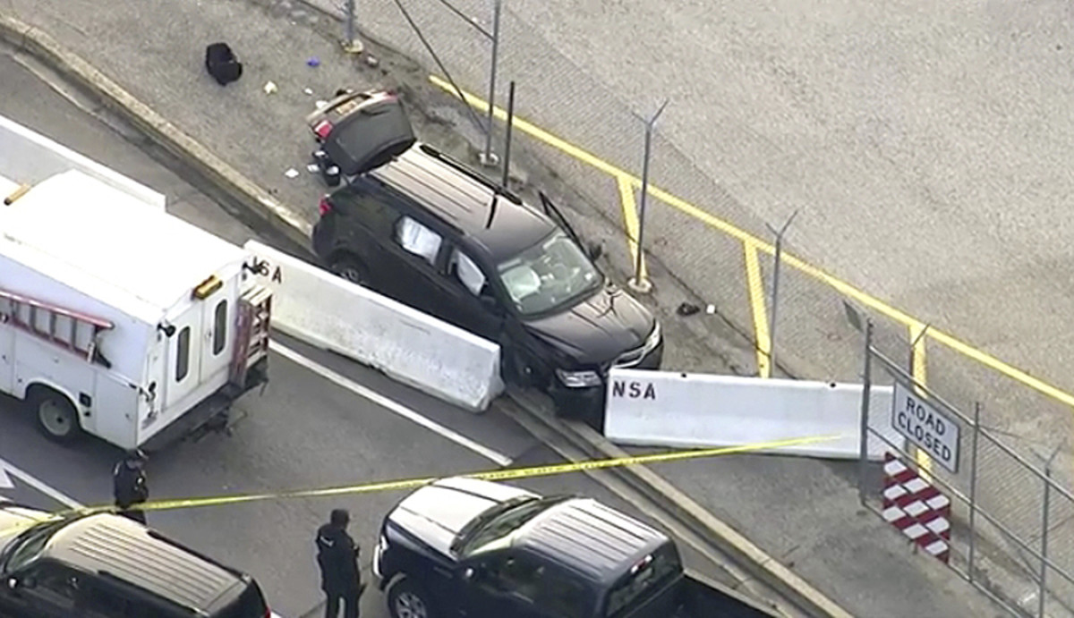 NSA: Several hospitalized after vehicle tried to enter | Deseret News