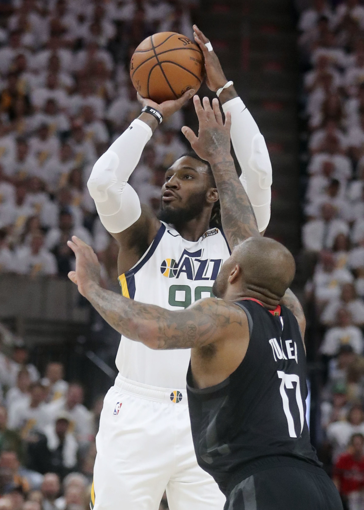 493ca2a9c Utah Jazz Twitter reactions   Mitchell Donovan  leads win over Houston  Rockets
