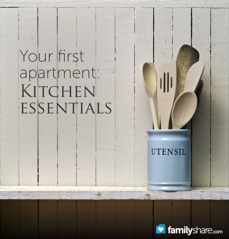 30 Kitchen Essentials For Your First Apartment | Famifi