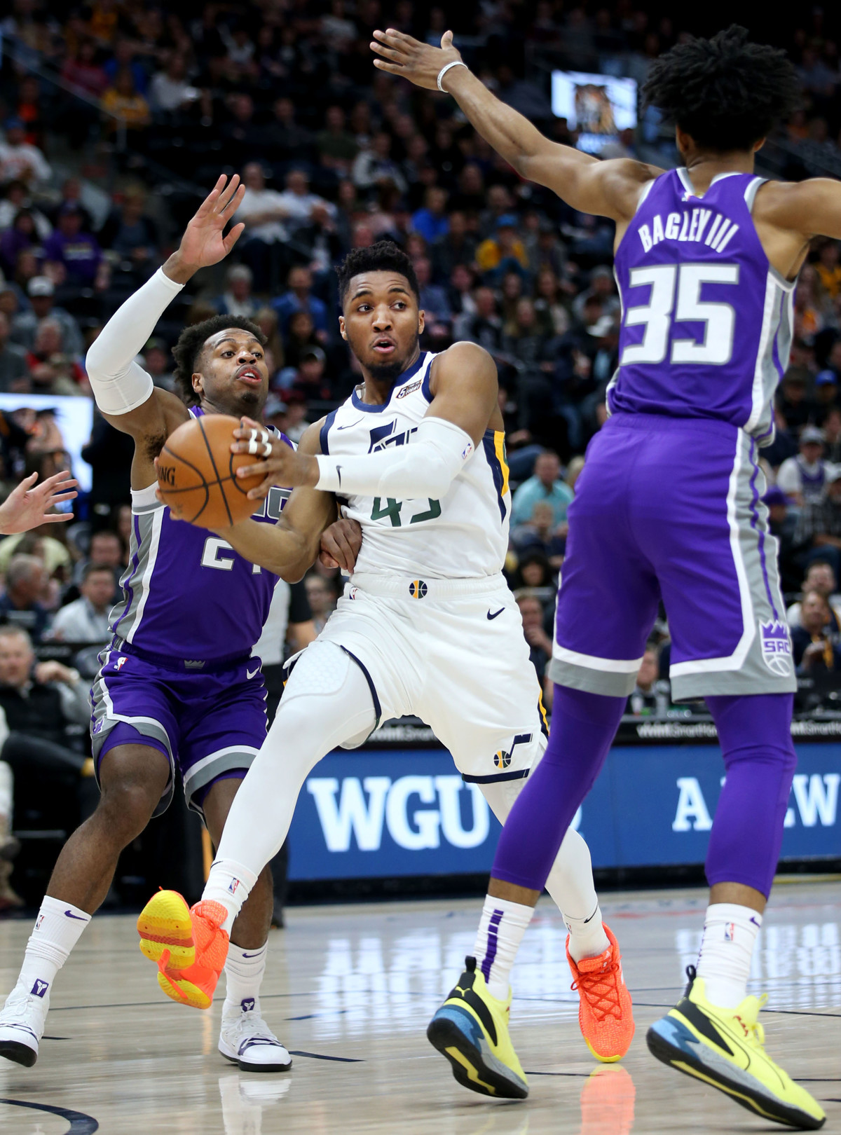 24614eb6ef83 Donovan Mitchell says Utah Jazz have championship aspirations this time  around   Why can t we as a team get to that point