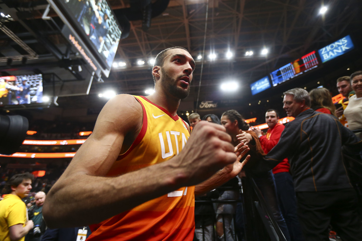 bc49d1e28b1 Utah Jazz's Rudy Gobert welcomes possibility of NBA games in France: 'It  would be big time'
