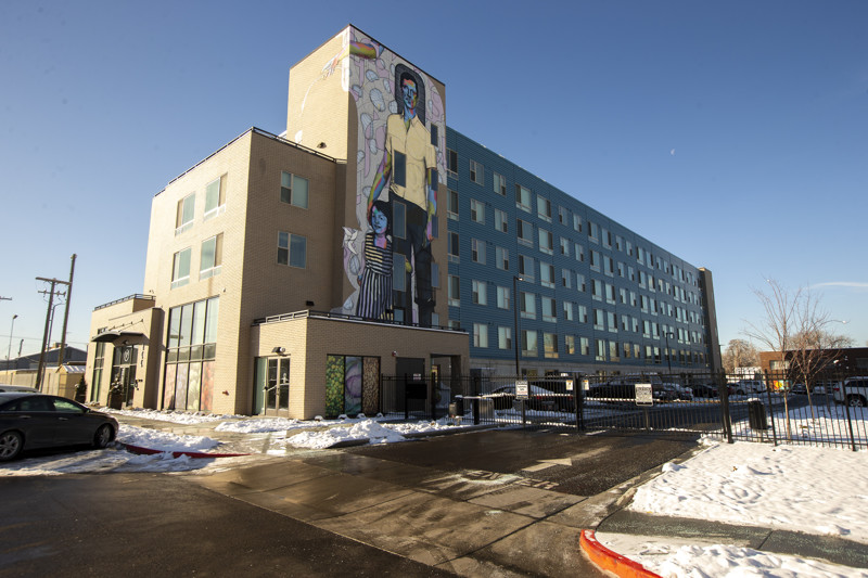 Project Open, pictured in Salt Lake City on Friday, Dec. 28, 2018, offers affordable housing.