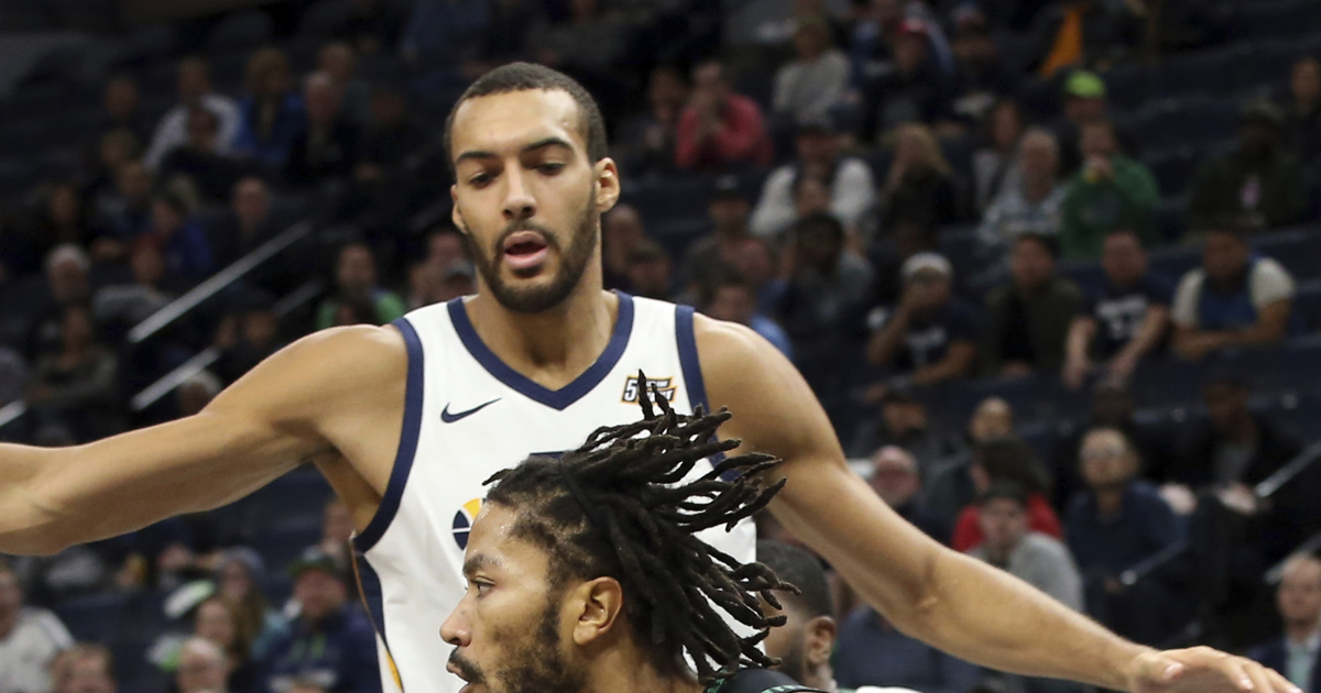 332b2e03 Utah Jazz center Rudy Gobert feels team defense is still adapting to NBA  rule changes