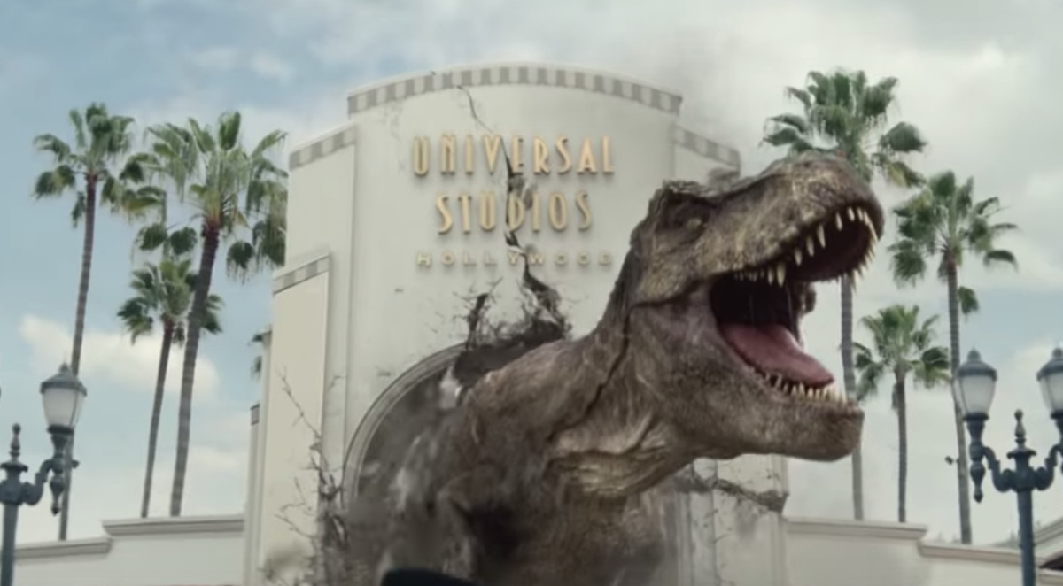 10eac10f Universal Studios releases first look at new 'Jurassic World' ride ...