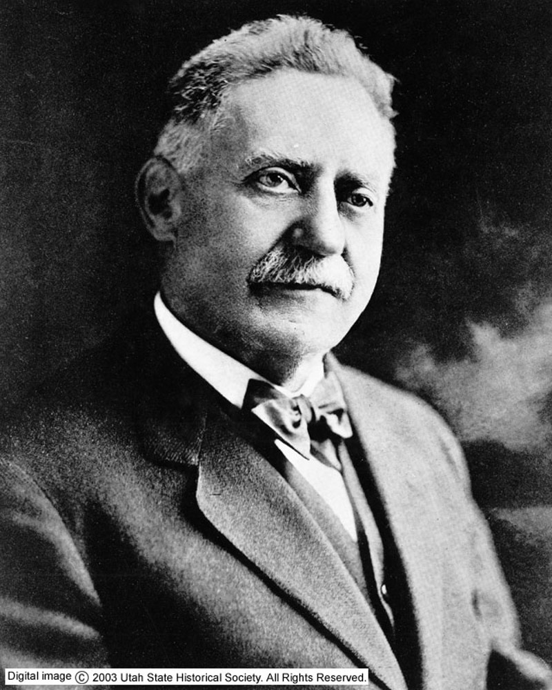 Simon Bamberger served as Utah's fourth governor from 1917 to 1921. He was the state's first Democratic and first Jewish governor.
