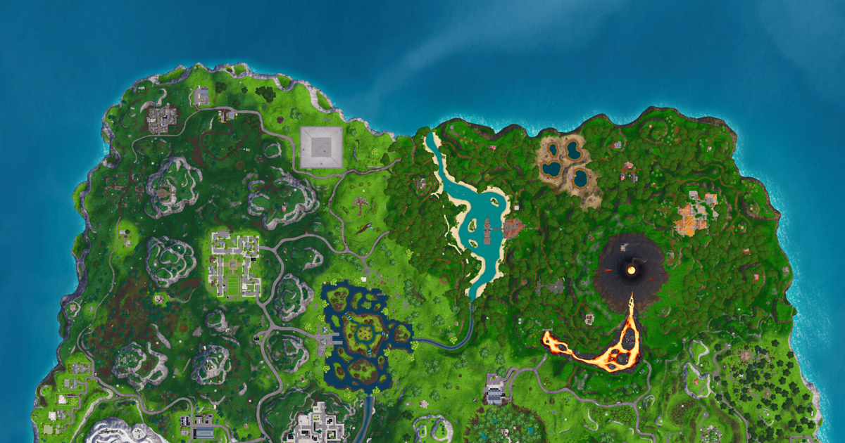 fortnite season 8 challenge where to find the giant faces by desert jungle and snow deseret news - snow biome in fortnite location