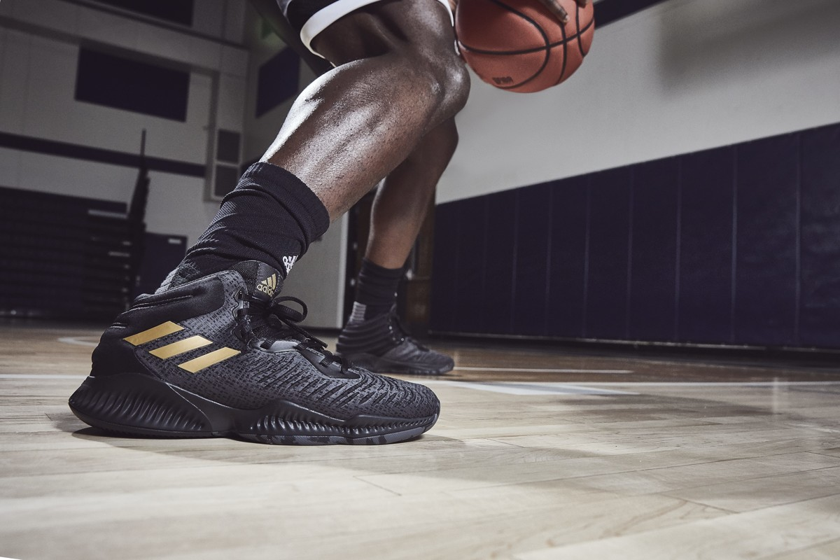 new concept 175aa f884d Your first look at Donovan Mitchells new Adidas sneakers for 2nd Utah Jazz  season