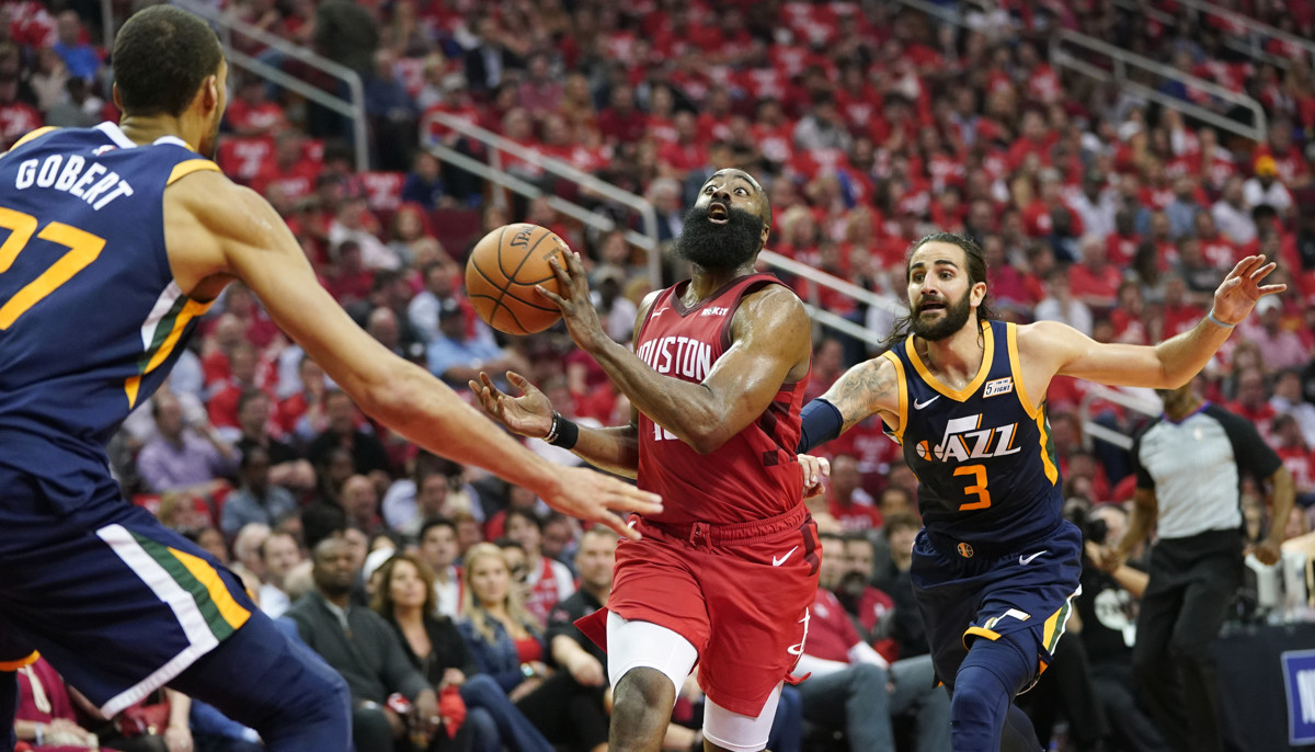 0d236e7994c Ricky Rubio feels Houston Rockets  have a mentality to win a championship  that  Utah Jazz can learn from
