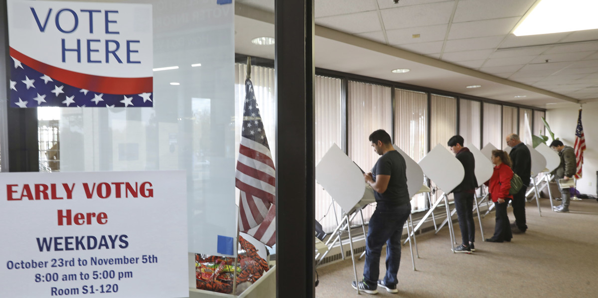 Election Day Isnt Until Tuesday But Utah Voter Turnout Is Already