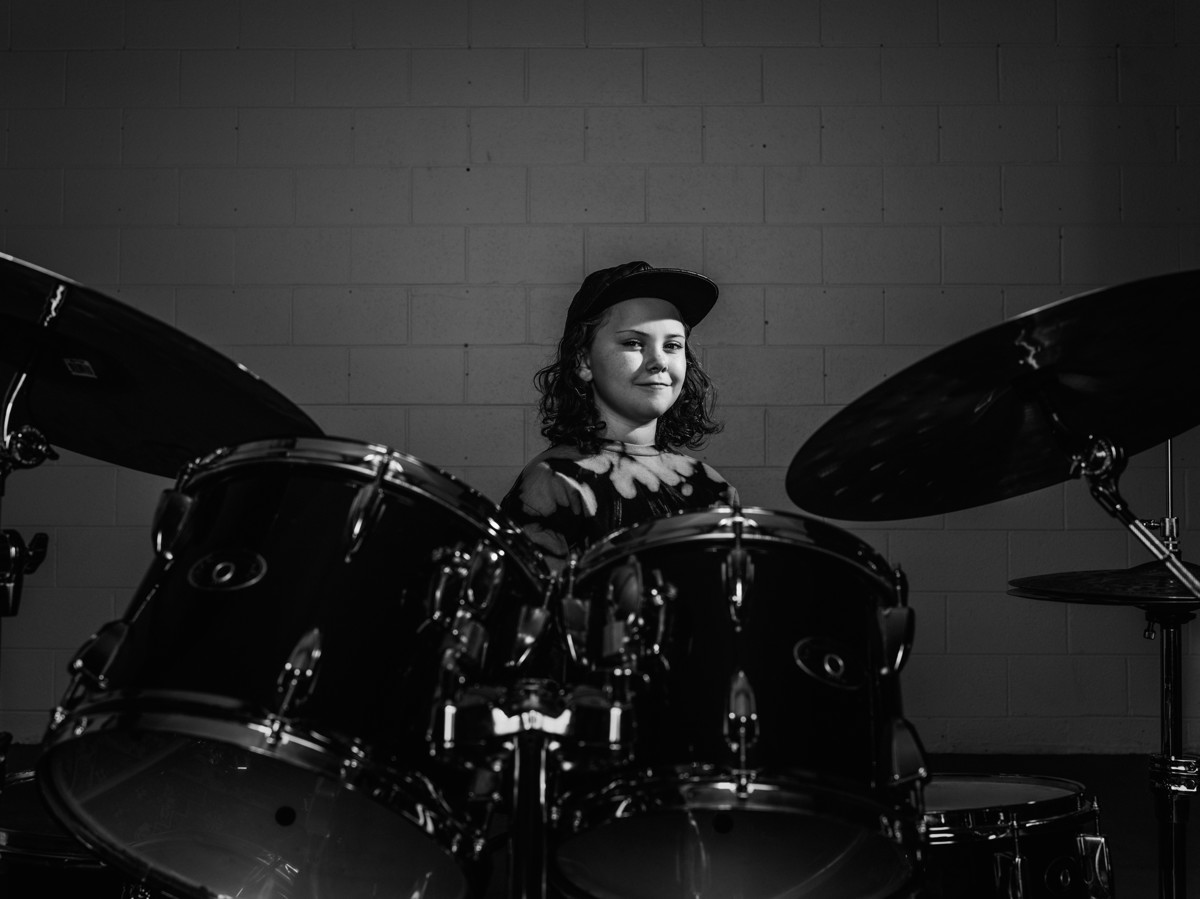 how a 10 year old slc drummer beat her way to the stage of nbc s