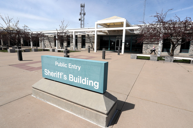 The Davis County Justice Center in Farmington is pictured on Monday, April 1, 2019.