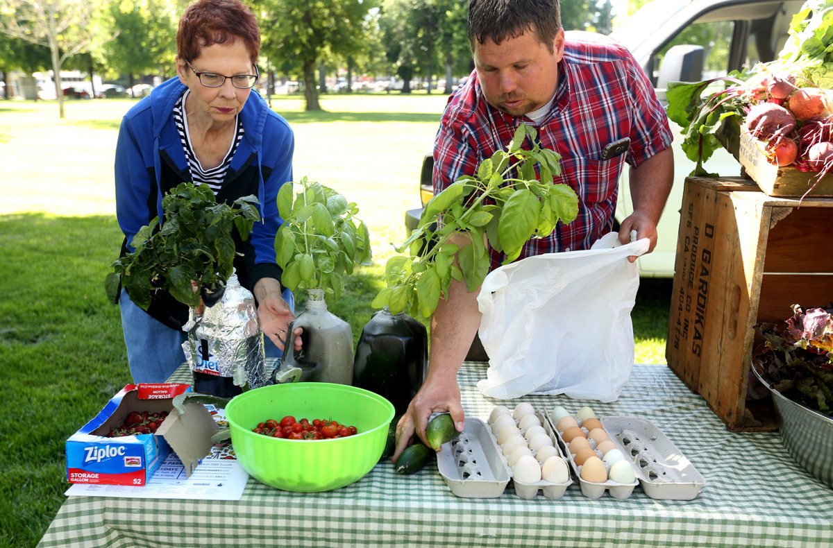 Salt Lake City's Downtown Farmers Market begins its 28th summer on