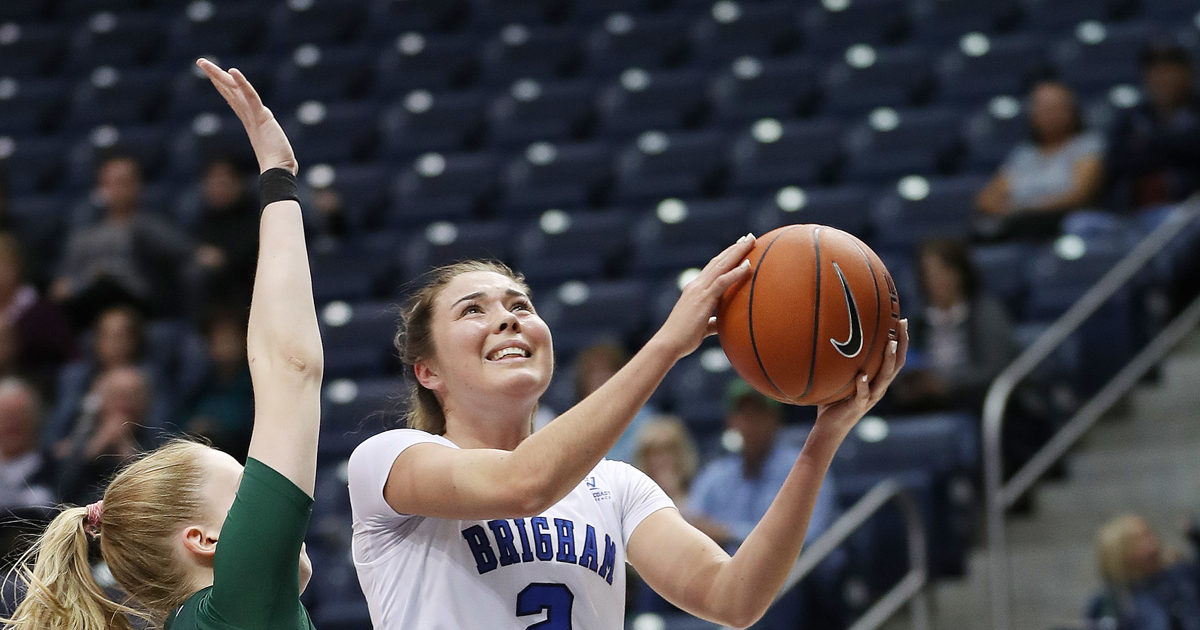 BYU guard Shaylee Gonzales will miss 2019-20 season after...