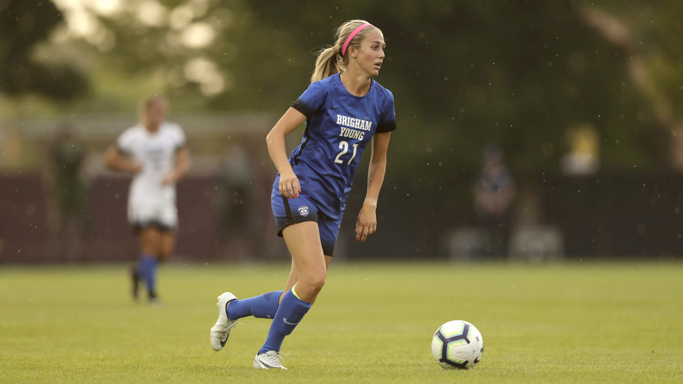 BYU soccer: Madie Siddoway Gates' penalty kick lifts BYU to overtime win over Titans