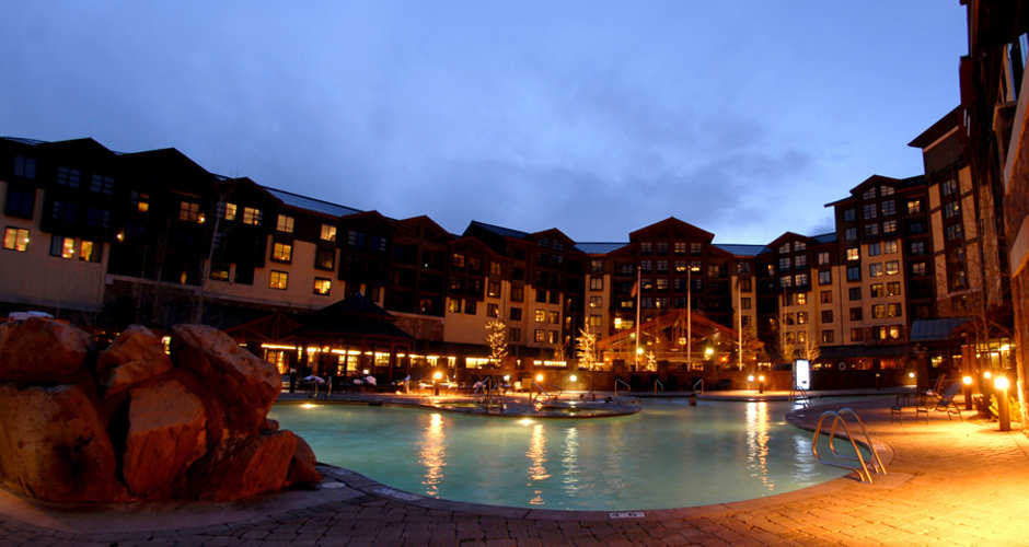 the grand summit hotel sits at the base of the canyons village just steps from the slopes of park city mountain - Canyons Resort Hotels